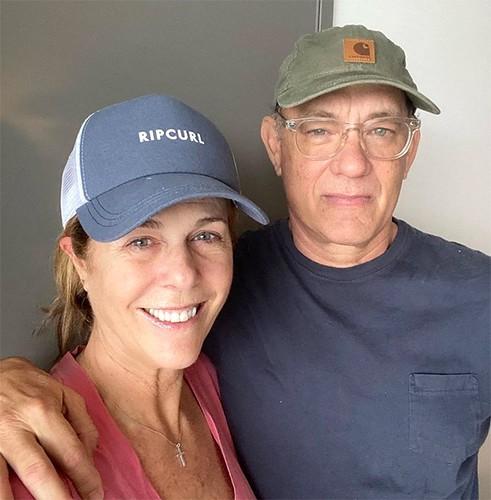 Tom Hanks Wife Rita Wilson